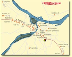 krnjaca mapa Jugoslavija EKO d.o.o. :: MEGABOARDS   Krnjača :: krnjaca mapa